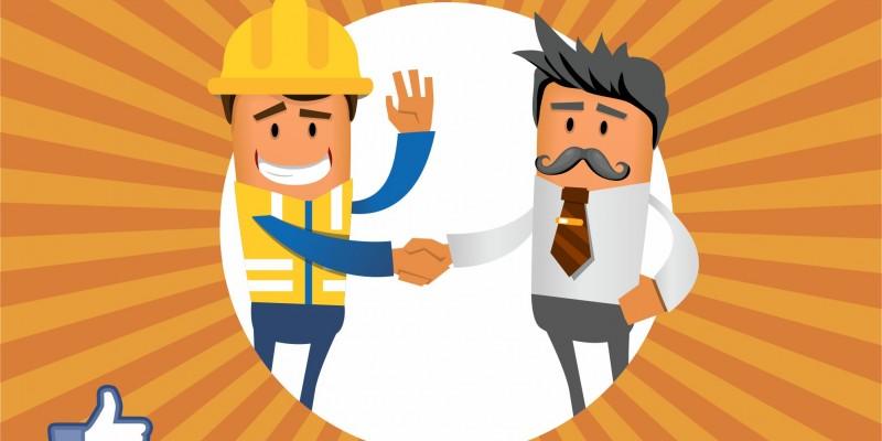 Obrero y jefe